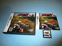 ATV: Quad Kings Nintendo DS Lite DSi XL 3DS 2DS Game w/Case & Manual