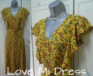 F&F - 40's style Flower Print Tea/Day Dress Sz 20 EU48