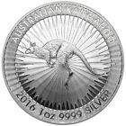 2016-P $1 Silver Australian Kangaroo 1 oz Brilliant Uncirculated