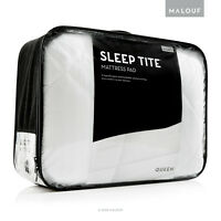 """SLEEP TITE Mattress Pad with Soft Quilted Top and 18"""" Deep Pockets - Cal King"""