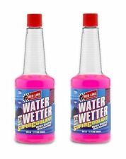 2 Redline Water Wetter Super Coolant Radiator Additive Overheating Control 80204