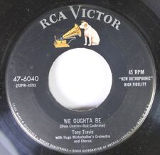 50'S & 60'S 45 Tony Travis - We Oughta Be / I'M Gonna Be A Long Time Forgetting