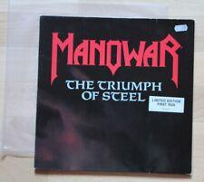 Manowar , The Triumph of Steel , 2LP , Vinyl , limited Edition 1992, rar , rare