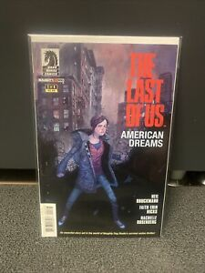 The Last Of Us Comic Book 1 of 4 Very Rare By dark Horse Comics and Naughty Dog