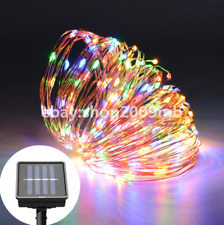 20M 200 LED Fairy String Lights Solar Power Lamps Party Xmas Deco Garden Outdoor