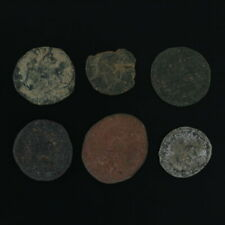 Ancient Coins Roman Artifacts Figural Mixed Lot of 6 B6537