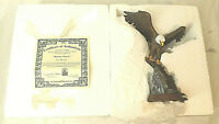 bradford exchange mountain majesty ted blaylock limited edition statue eagle