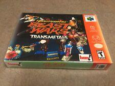 Transformers: Beast Wars - TRANSMETALS !  (Nintendo N64)