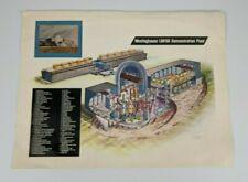 Vintage Westinghouse Liquid Metal Fast Breeder Reactor Diagram Page - LMFBR