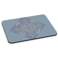 Geometric Triangles Pattern Aztec Tribal PC Computer Mouse Mat Pad