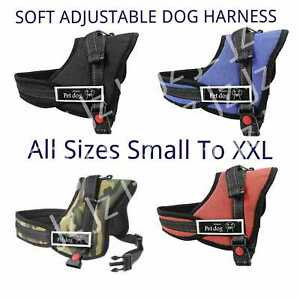 Harness Dog Adjustable Puppy Pet Vest Soft Reflective Comfortable Small S / XXL