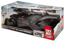 DC Justice League Mega Cannon Batmobile Vehicle Ages 4+ Toy Car Tank Batman Play