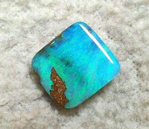Top - Boulder-Opal - Grün - Blau -Top Farbe - 3,30ct. -Top Ringstein  !!