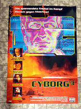 CYBORG 3: The Recycler * VIDEO-POSTER A1 - German 1-Sheet ´96