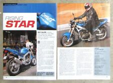 HYOSUNG COMET GT250 2003 Motorcycle Original Magazine Road Test Review Article