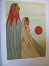 Autumn's Daughter 6x9 Inch Print Card By Ioyan Mani (Maxine Noel)