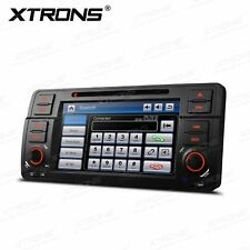 "Head Unit 1 DIN 7"" Car DVD Player GPS Navigation Stereo for BMW 3 Series E46 M3"