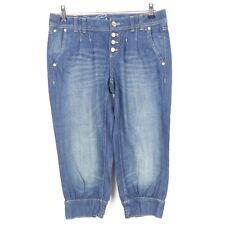 EDC BY ESPRIT Caprihose Kurze Hose Bermuda Denim Jeans Shorts Blau Gr. W26