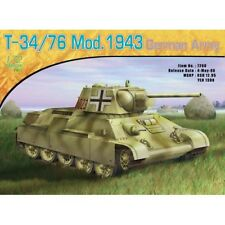 Dragon #7268  1/72 T-34/76 GERMAN ARMY