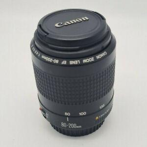 Canon EF 80-200mm 1:4.5-5.6 II Zoom Lens for Canon EOS DSLR SLR