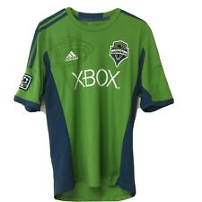 Adidas Seattle Sounders FC MLS Climacool Soccer Jersey XBOX Medium Green