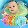 Baby Infant Swimming Pool Bath Shower Neck Floating Inflatable Ring Circle Toy