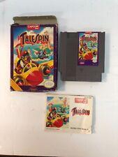 Talespin Nintendo Capcom USA, Original Box and Instructions