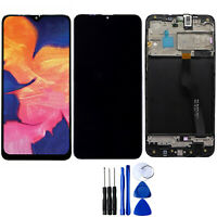 For Samsung Galaxy A10 A105 LCD Display Touch Screen Digitizer Frame Replacement
