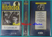 VHS film IL CLUB DEI 39 1935 Hitchcock Carroll sigillato  BRAMANTE(F89) no dvd