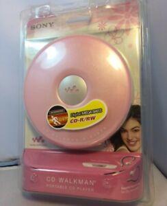 Sony CD Walkman Portable CD Player CD-R/RW - Pink (D-EJ010/PI)