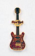 Hard Rock Cafe Boston Guitar Lapel Pin No Package Free Shipping