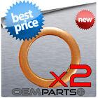 2 DORMAN 095-010.1 ENGINE OIL CHANGE COPPER DRAIN PLUG GASKET CRUSH RING WASHER  for sale