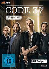 4 DVDs *  CODE 37 - STAFFEL / SEASON 1 - zdf_neo   # NEU OVP &