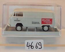 Brekina 1/87 Nr. 33522 Volkswagen Bulli VW T2 Kasten Auto Motor Sport OVP #4669