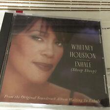 Whitney Houston Exhale (Shoop Shoop) CD single DJ Promo 1995 arista ascd 2885