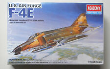 US AIR FORCE F-4E Jet Aircraft Plastic 1:144 Scale Academy Model Kit