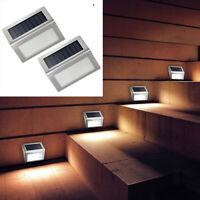 Lampada led illuminazione esterno da parete alimentazione a luce solare