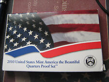 2010-s US ATB CLAD QUARTERS PROOF SET w/ BOX,COA    $1.5 MILLION EBAY SALES #zz1