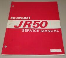 Werkstatthandbuch Suzuki JR 50 Service Manual September 1996!