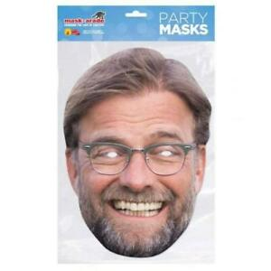 Jurgen Klopp  Party Face Mask