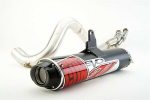 Big Gun EVO U Full System Exhaust Pipe Honda Rubicon 500 4x4 2015-2017
