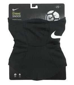 Nike Unisex STRIKE Snood Soccer Neck Warmer Black Face Mask Scarf BQ5832-013