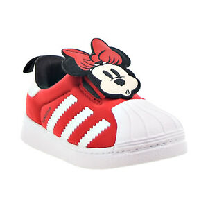 Adidas Disney Superstar 360 I Minnie Mouse Toddlers Shoes Red-White-Black Q46306