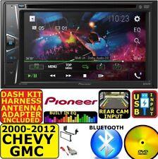 2000-2012 CHEVY GMC PIONEER CD/DVD BLUETOOTH USB CAR RADIO STEREO SYSTEM PACKAGE