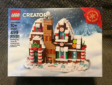 LEGO Creator Gingerbread House -- 40337 -- New in Box NIB - 2019 Limited Edition