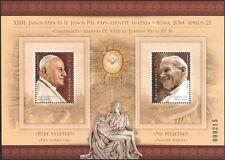 Hungary 2014 Pope John Paul II/John XXIII/Popes/Papal/Religion/People m/s n45126