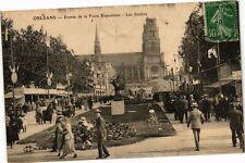 CPA Orleans-Entrée de la Foire Exposition-Les Jardins (264765)