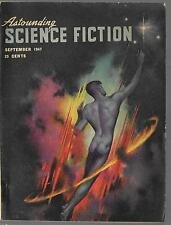 ASTOUNDING SCIENCE FICTION Magazine Collectible SEPT 1947 L. RON HUBBARD