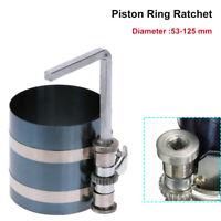 Engine Piston Ring Ratchet Type Compressor Clamp 53mm -152mm Diam 75mm Depth New