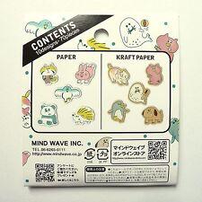 70x Cute Animal Pastel Sticker Flakes: Mind Wave Inc.